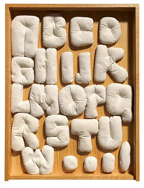 Claes OLDENBURG, Soft alphabet