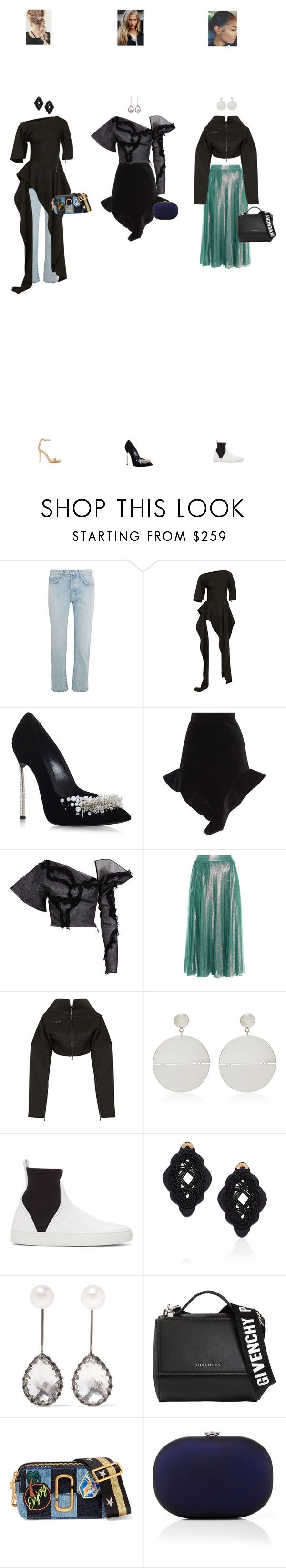 """Apr. 26, 2017"" by chocohearts08 ❤ liked on Polyvore featuring Current/Elliott, Maticevski, Casadei, Francesco Scognamiglio, Gucci, Agmes, Cédric Charlier, Anna e Alex, Larkspur & Hawk and Givenchy"