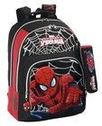 MOCHILA SPIDERMAN DOBLE ADAPTABLE CARRO