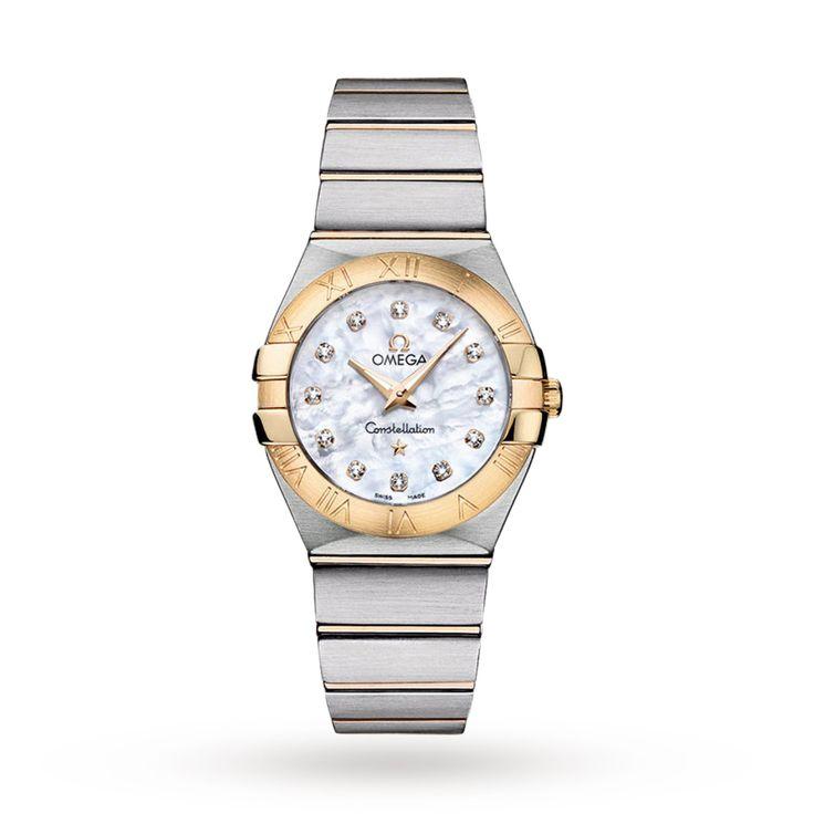 Omega Constellation Ladies Watch | Luxury Watches | Watches | Goldsmiths