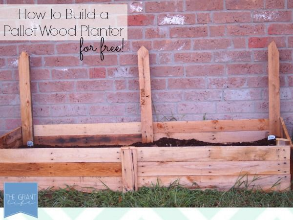 Spectacular how to build a pallet wood planter