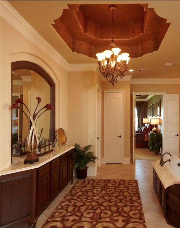 Gorgeous master bathroom design.