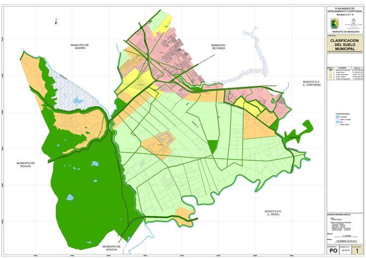 imagen de mapa de CLASIFICACIÓN DEL SUELO PBOT 2013