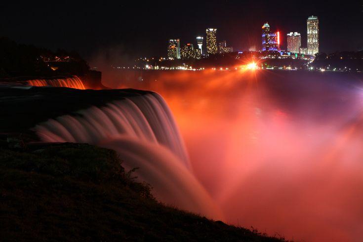 Ниагарский водопад — подробная информация с фото и видео