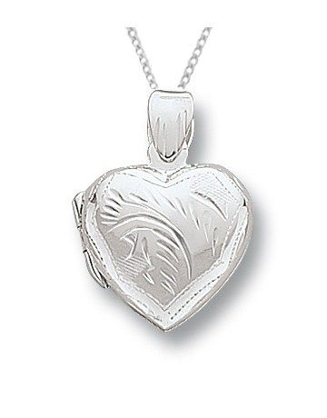 Buy Miss Silver Locket Necklace Online - NetJewel
