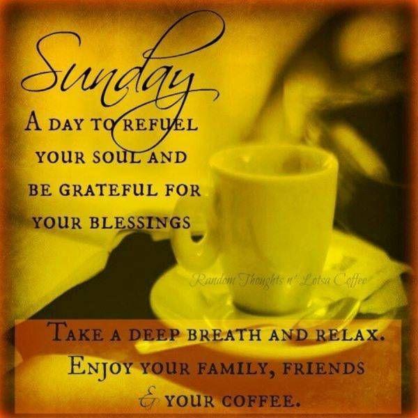 Enjoy your Sunday coffee :-)