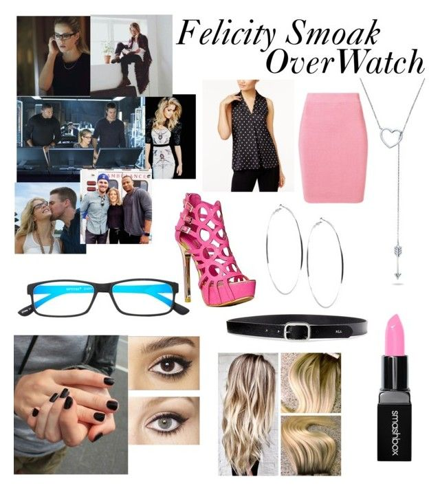 """""""Felicity Smoke OverWatch"""" by girl-genuis-in-the-making on Polyvore featuring T By Alexander Wang, Vince Camuto, Lauren Ralph Lauren, BERRICLE, GUESS, Select-A-Vision, Smashbox and Charlotte Tilbury"""