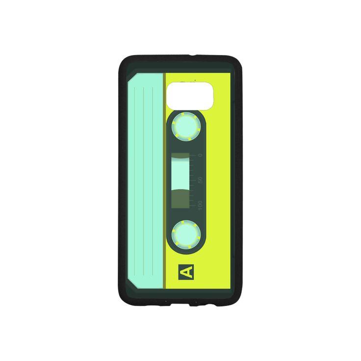 Cassette Tape Rubber Case for SamSung Galaxy S6 edge