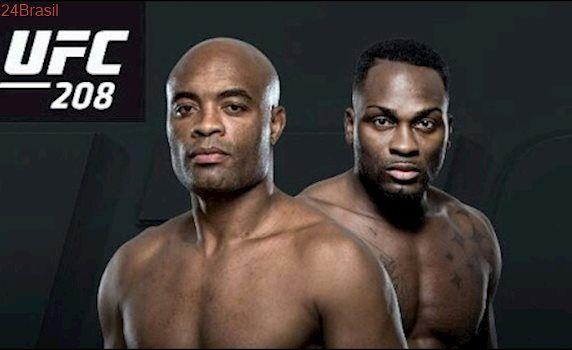 Luta de Anderson Silva vs Derek Brunson UFC 208