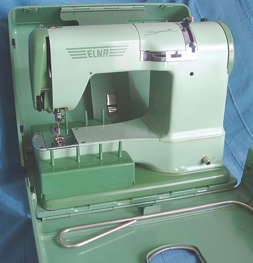 my fab sewing machine....inherited it from my Grandma, and would not change it for the world.