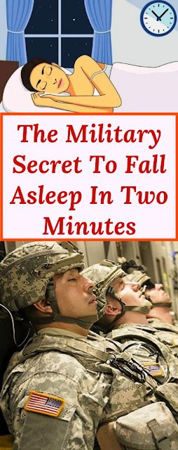 The Military Secret To Fall Asleep In Two Minutes …