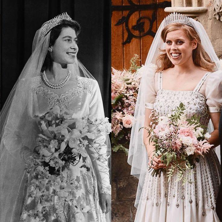Princess Beatrice's Wedding Dress Was a Stunning Vintage