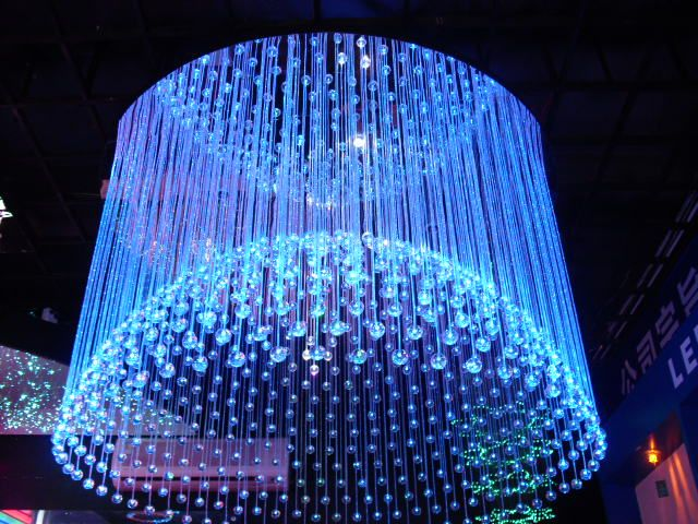 Fiber Optic Pendant Light