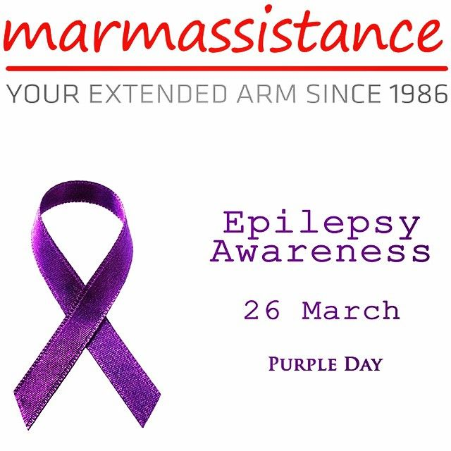 Epilepsy is both neurological and physical condition. Epilepsy is described as the tendency to have repeated seizures that start in the brain. Epilepsy is usually only diagnosed after the person has had more than one seizure. On 26 March people in countries around the world are invited to wear purple and host events in support of epilepsy awareness.  http://marmassistance.com