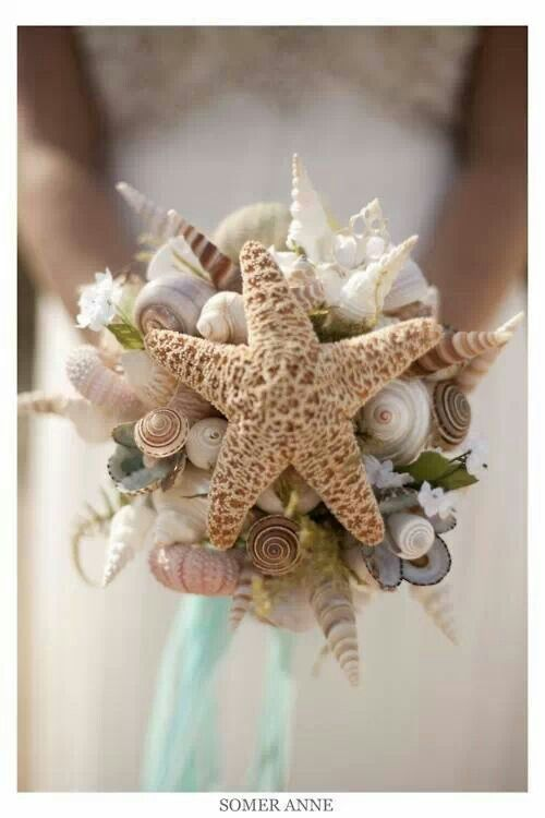 Coastal living beach bouquet