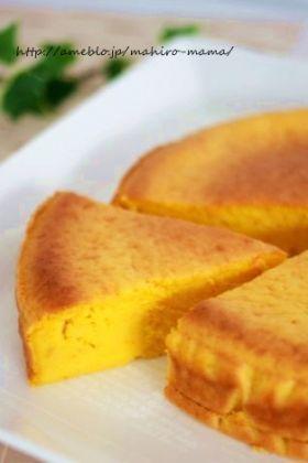 「【ハロウィン】パンプキンチーズケーキ」momo。   お菓子・パンのレシピや作り方【corecle*コレクル】