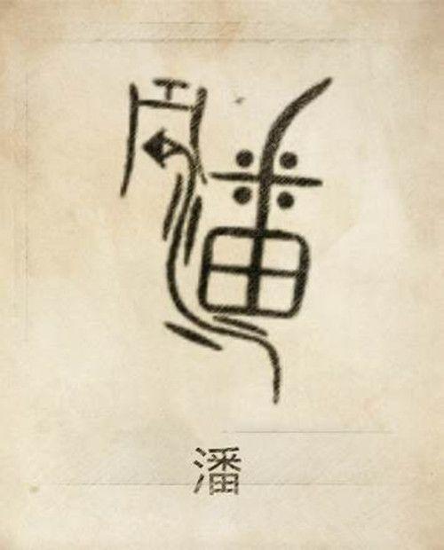 你一定没见过,自己的姓氏图腾竟是这样!   Totem, Buddhism, Fonts design