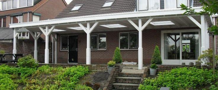 17 best images about houten veranda overkapping on for Moderne aanbouw aan klassiek huis