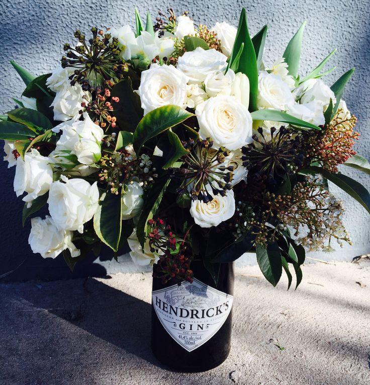 Upcycled Vase Delivered Melbourne Metro Richmond Florist