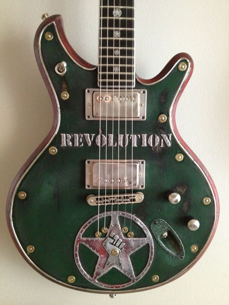 McSwain Guitars - Guitars - Revolution