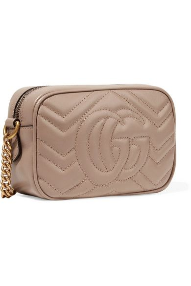 8de83d122b2e6b Gucci GG Marmont Camera mini quilted leather shoulder bag