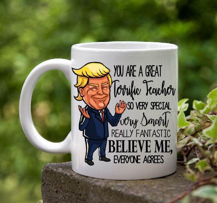 Boss Gift Trump BOSS Mug Best Boss Ever Gifts Funny Trump Coffee Mug Funny Cup