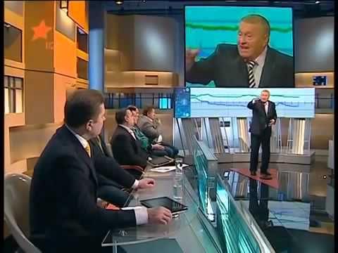 Жириновский на Украинском шоу  Ругается с Украинскими политиками