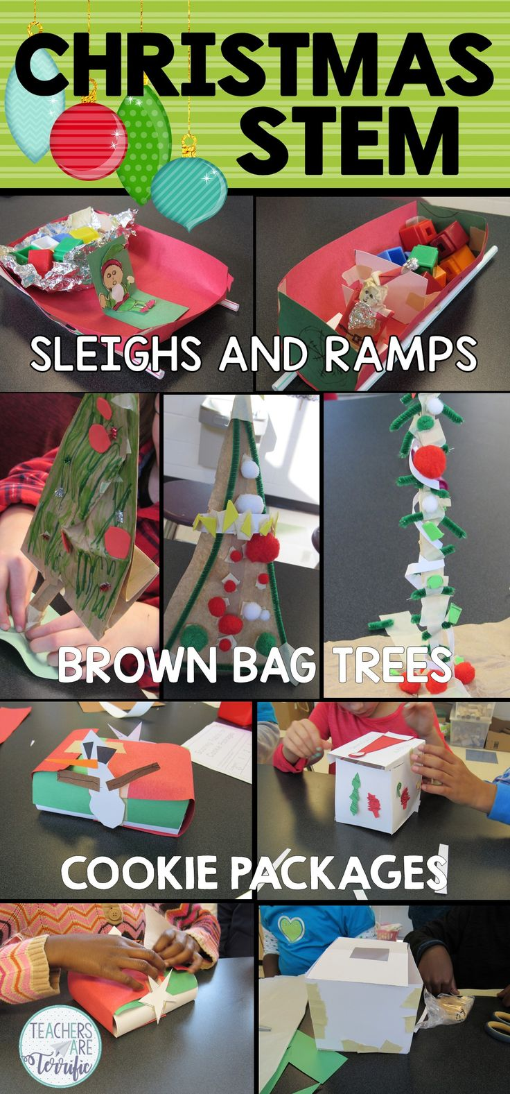 Fabulous trio of STEM Challenges just for Christmas!