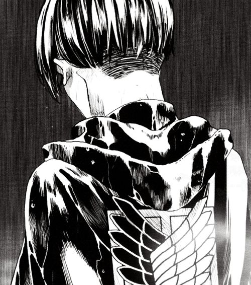 Levi Ackerman (Rivaille) - Shingeki no Kyojin / Attack on Titan, manga