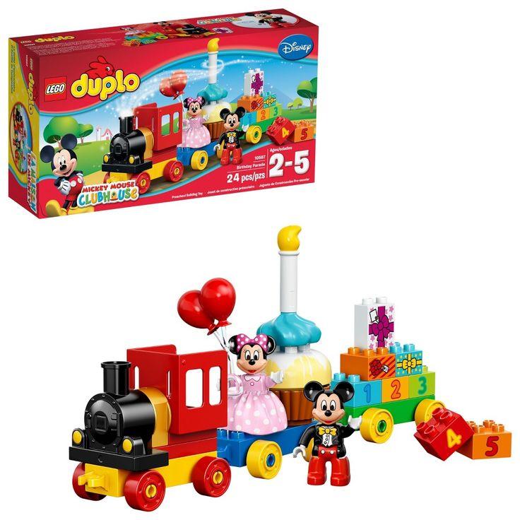 LEGO DUPLO Mickey Minnie Birthday 10597   Lego duplo. Disney mickey mouse clubhouse. Lego disney