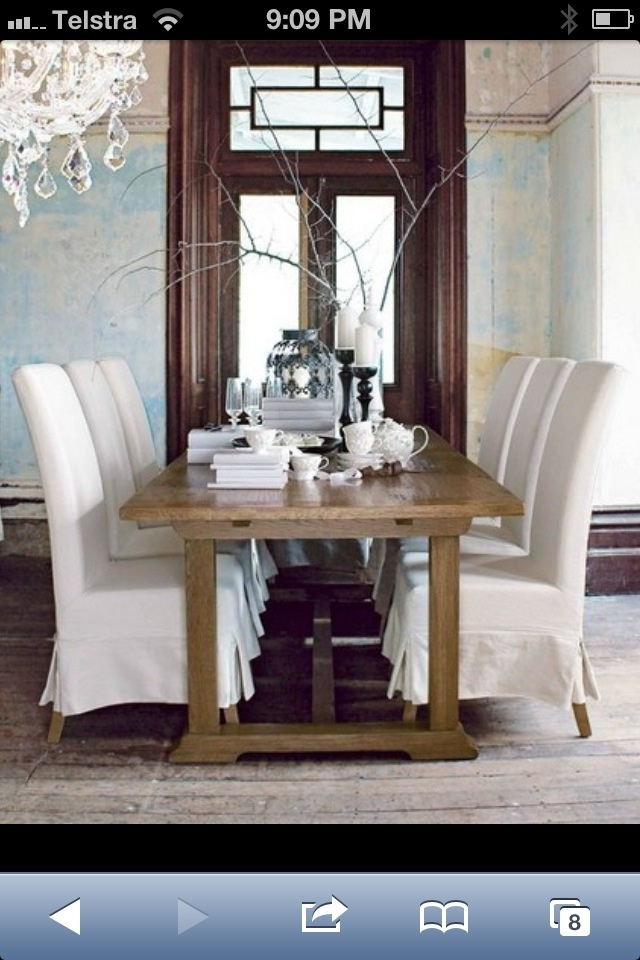 Domayne Hampton Dining Table & Chairs... LOVE!!! Adding to my wish list. :).