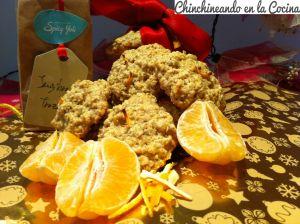 Galletas de avena con mandarina y jengibre, os apetecen?????????