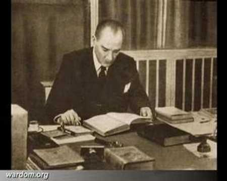Atatürk'ün Kendi Sesi İle Ne Mutlu Türküm Diyene - YouTube