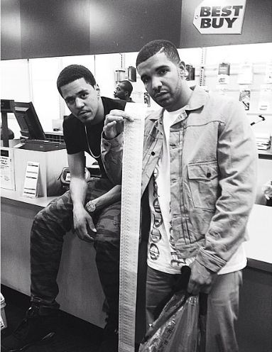 J. Cole + Drake = 2 of my top 5 favorite rappers