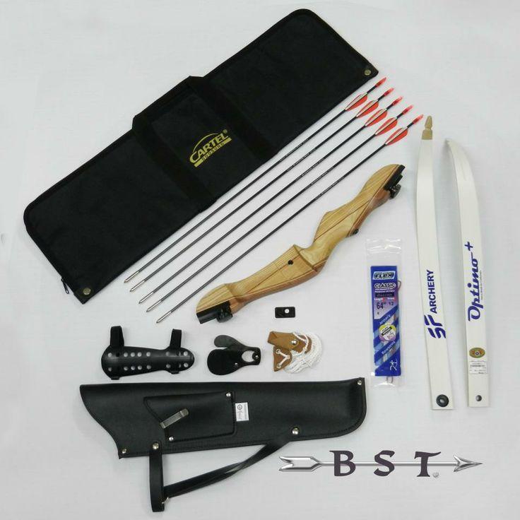 Pfeil und Bogen Bogenset Recurvebogen mit viel Zubehör für Einsteiger! Alles für den Bogensport und viel Zubehör zum Bogenschiessen bei http://www.bows.at/shop