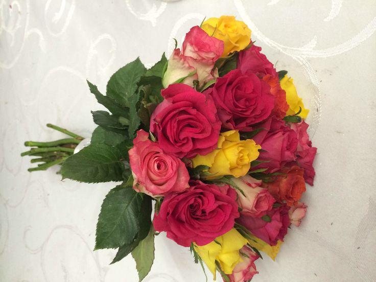 Bridesmaid bouquet.