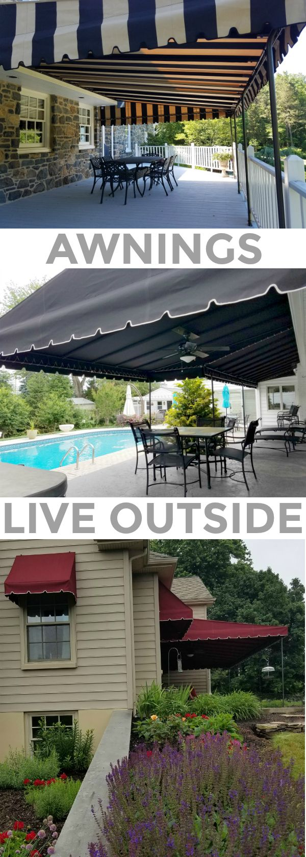Live outside by reclaiming your hot unusable patio area by installing a stationary canopy. Sun & Live outside by reclaiming your hot unusable patio area by ...