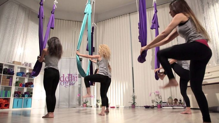 Aerial Flow Yoga by Siddhi , the choreography