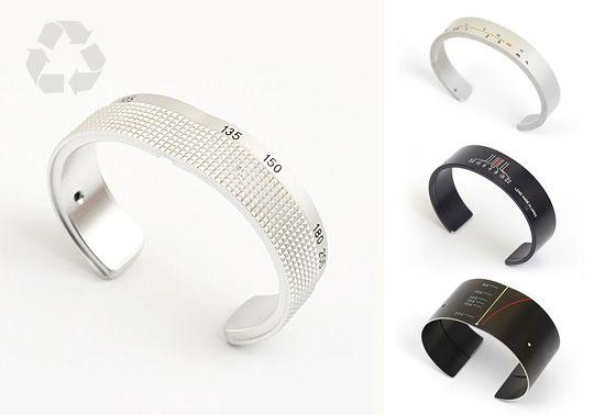 Craig Arnold's Recycled Camera Lense Bracelet