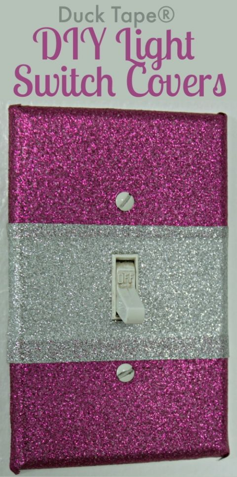 create your own decorative light switch covers easy diy all you need is a - Decorative Light Switch Plates