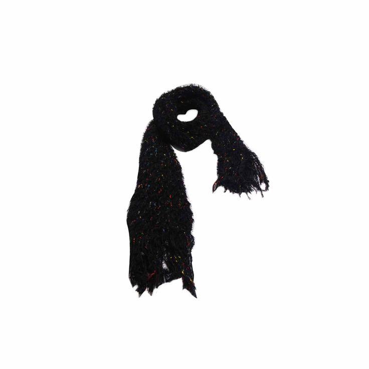 Cachecol Xadrez Azul e Vermelho de Lã #Cachecol #Cachecóis #scarfs #scarf #fashion #modafeminina #moda
