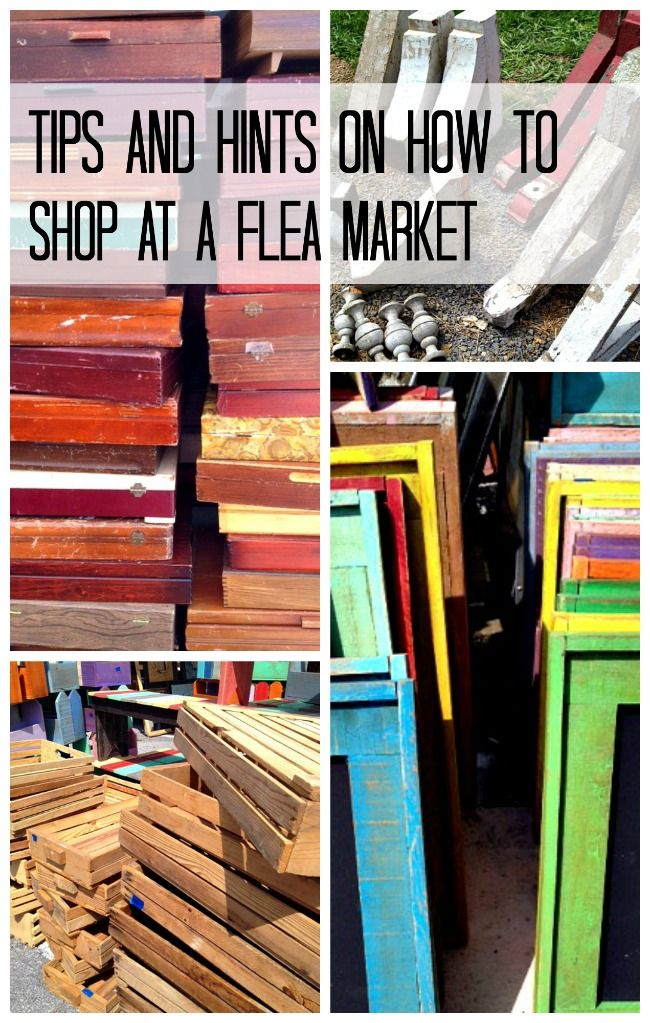 Tips and Hints on How to Shop at a Flea Market #FleaMarket, #FleaMarketFinds, #HowToShopAtAFleaMarket