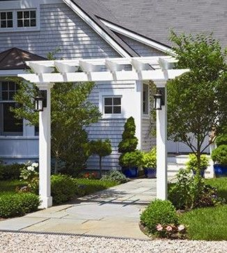 Gateway Pergola - modern - gazebos - other metro - Walpole Outdoors