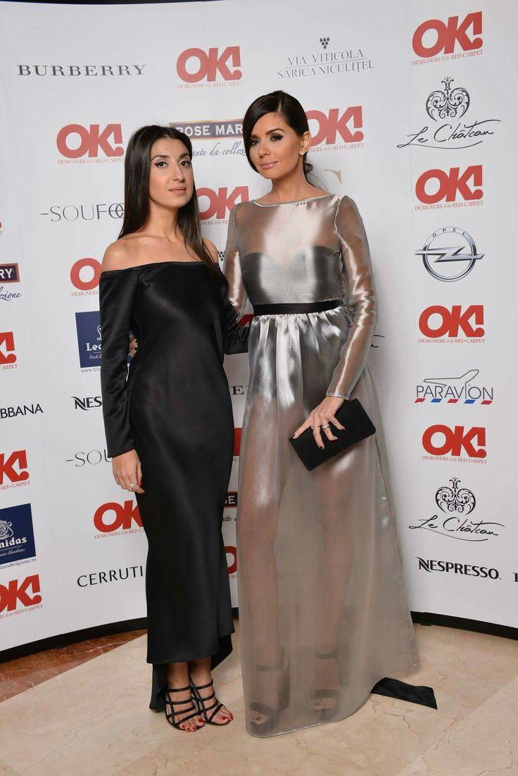 Laura Hîncu and Albertina Ionescu for OK! Designers' Party