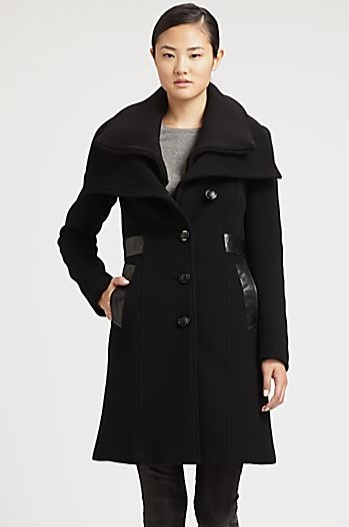 DEAL OF THE WEEK: Mackage Leather Detailed Coat. Reg $700; NOW $450 {36% Savings} Email: lesley@thestylehunter.com if interested in purchasing.