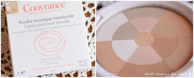 avene couvrance translucent powder