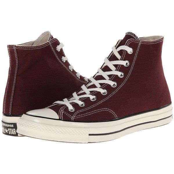 Converse Chuck Taylor All Star '70 Hi Athletic Shoes, Brown ($48) ❤ liked on Polyvore featuring shoes, sneakers, converse, trainers, brown, converse footwear, star sneakers, laced up shoes, laced shoes and lace up sneakers