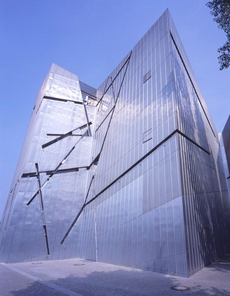 "Jewish Museum ~ Berlin, Germany. Pinner says, ""Hard to define as a 'favorite space' but it's certainly one of the most moving."""