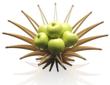 Christopher Metcalfe : Arbolito wooden fruit bowl