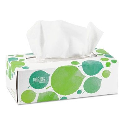 Seventh Generation® 100% Recycled Facial Tissue, 2-Ply, 175/box